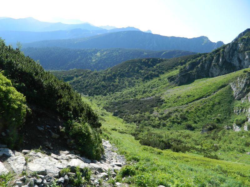 Krajobraz w okolicy Kasprowego Wierchu