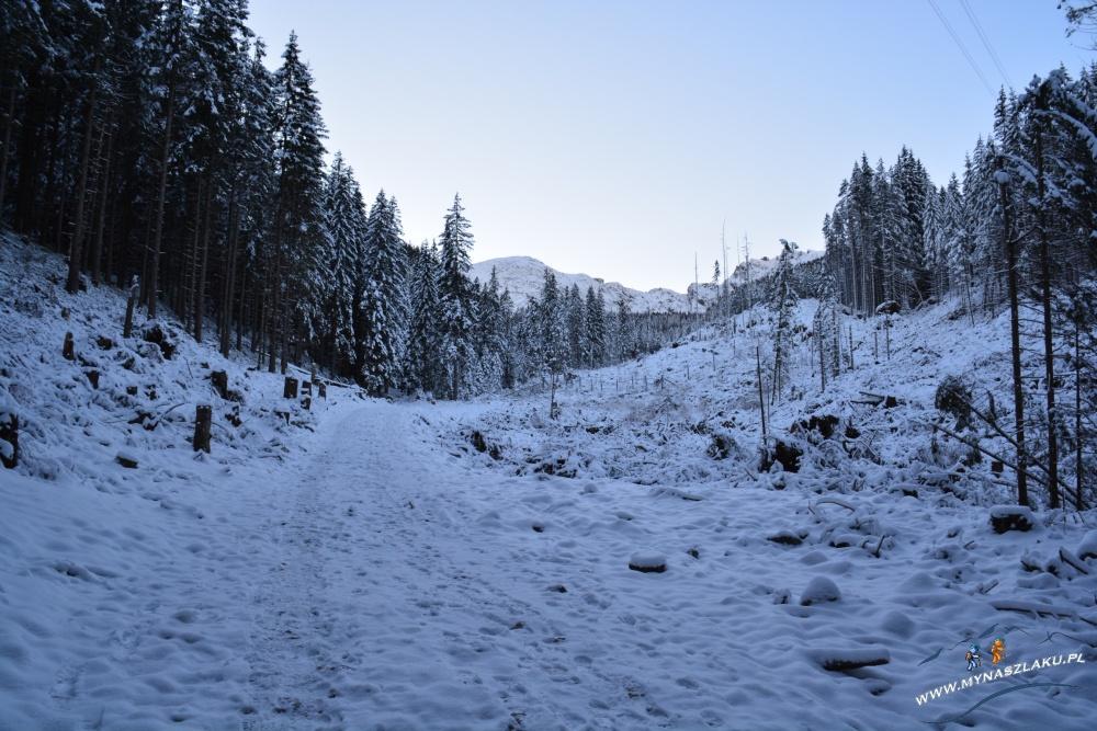 Szlaki na Kasprowy Wierch zimą