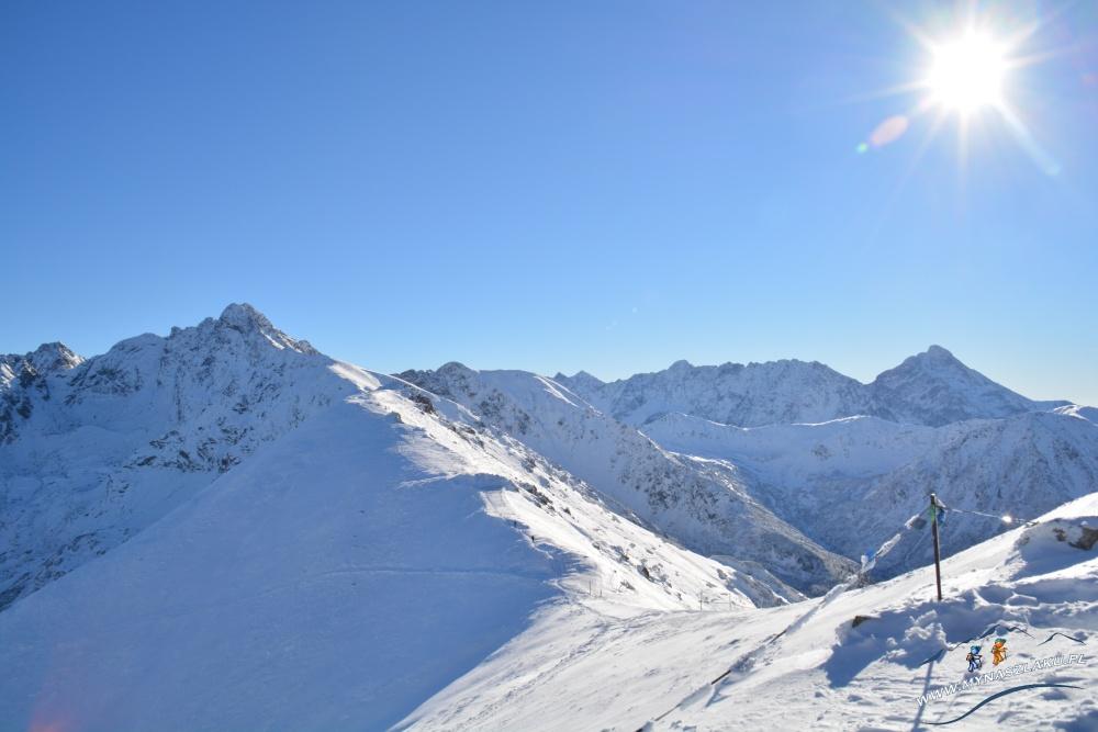 Szczyt Kasprowy Wierch zimą