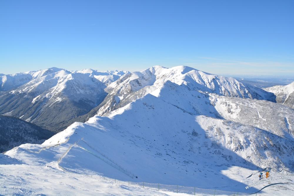 Zimowe szlaki prowadzące na Kasprowy Wierch