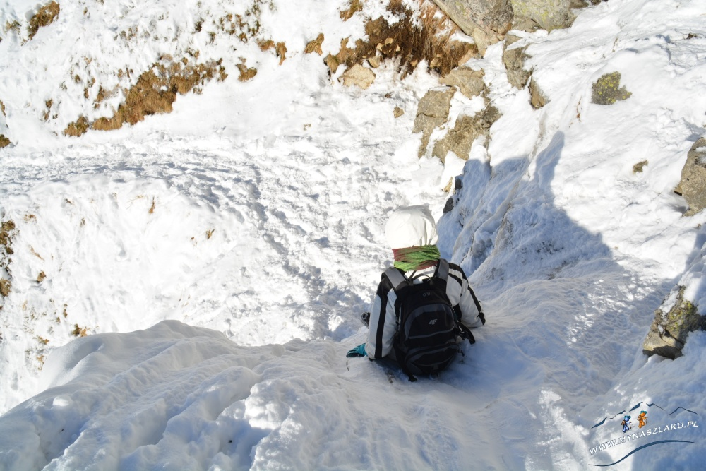 Chodzenie po górach zimą