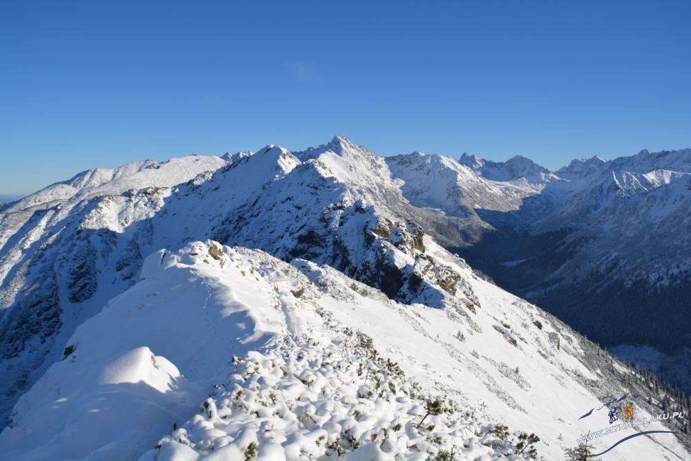 Zima w górach - widoki