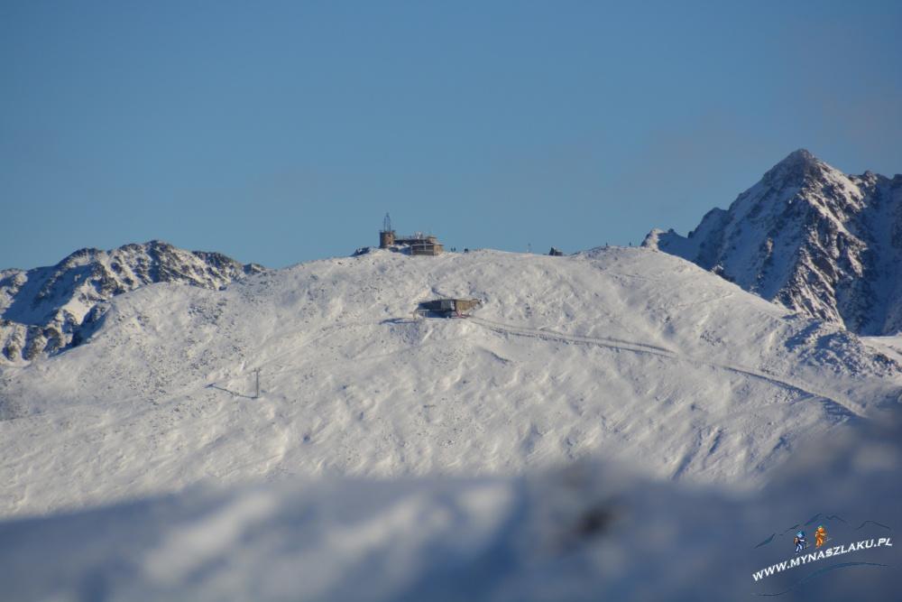 Zimowe szlaki na Kasprowy Wierch