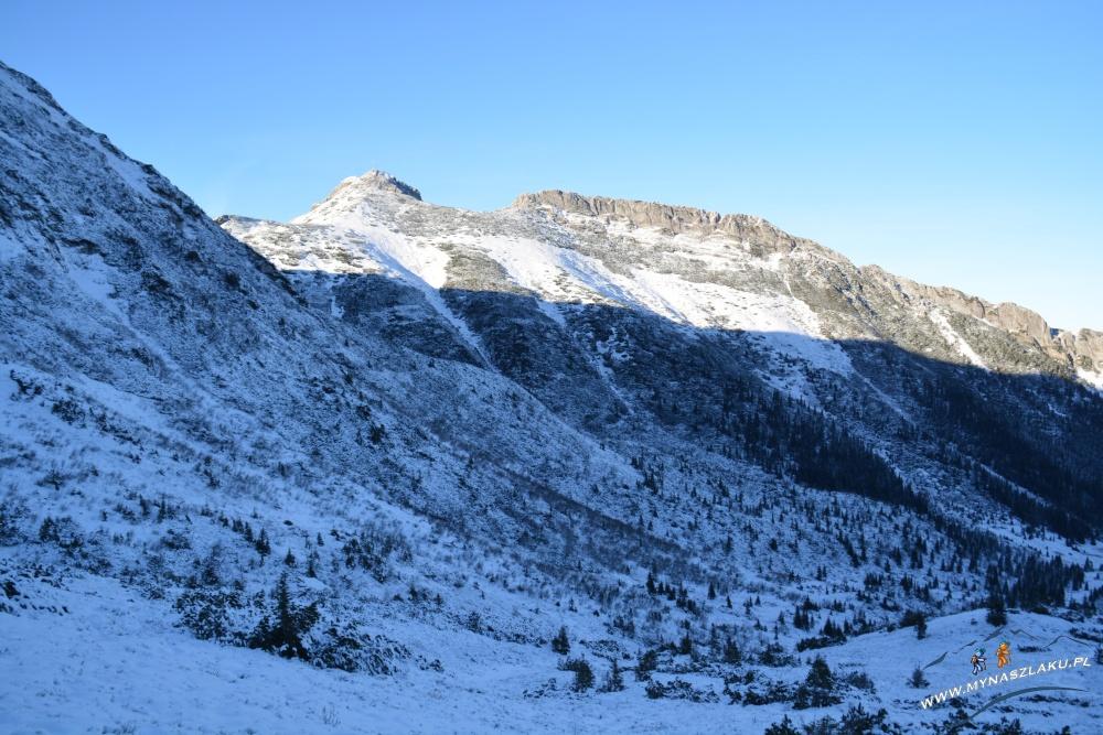 Zimowe widoki w okolicach Kasprowego Wierchu