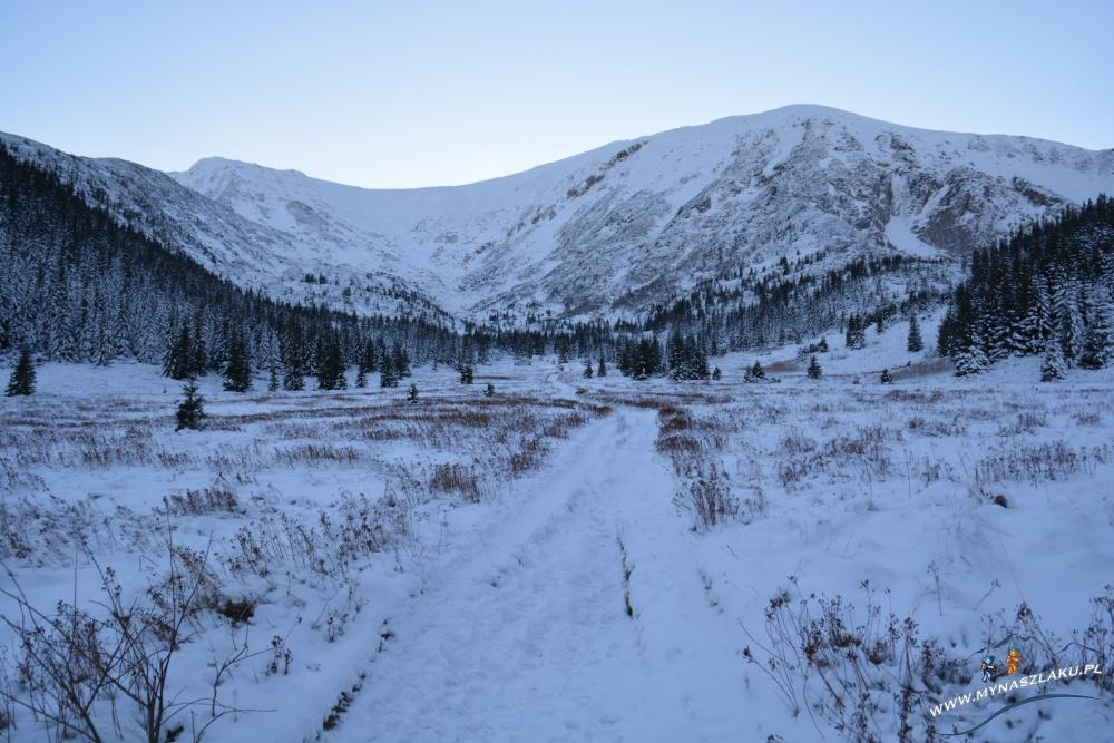 Szlak na Kasprowy Wierch zimą