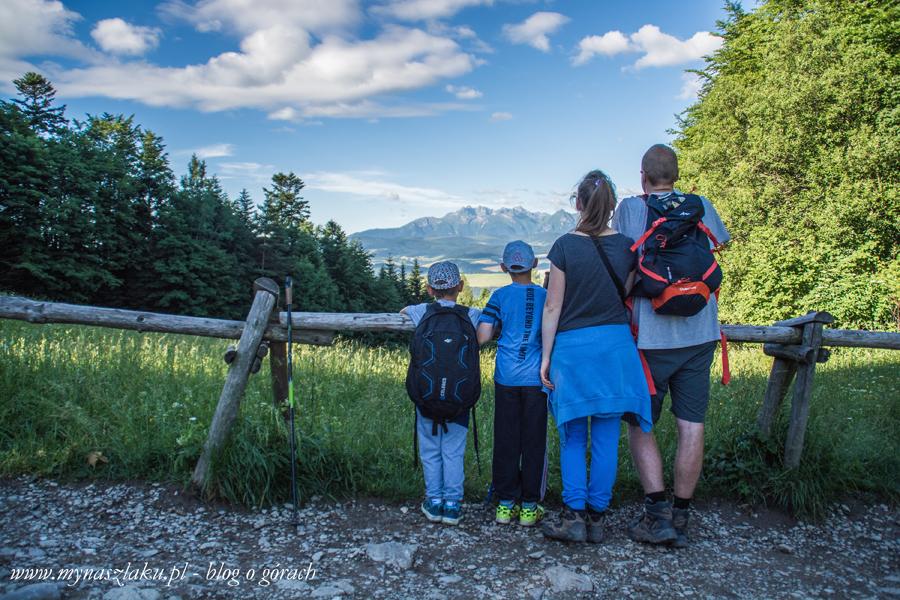trzy korony szlak z krościenka z dziećmi