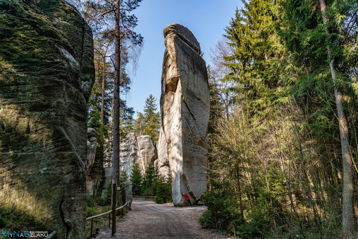 Miasto skalne Adrspach