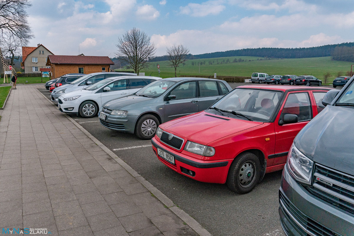 Adrspach parking