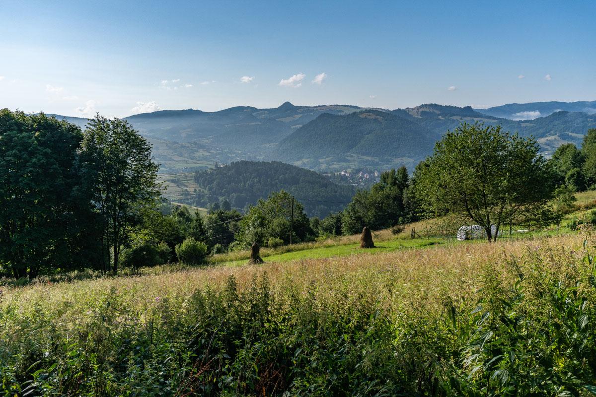 Widok na Tatry z Bereśnika