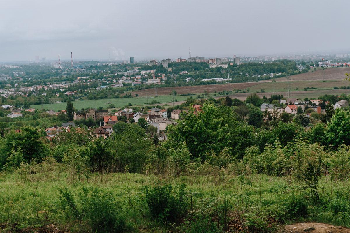 Góra Świętej Doroty na Wyżynie Katowickiej