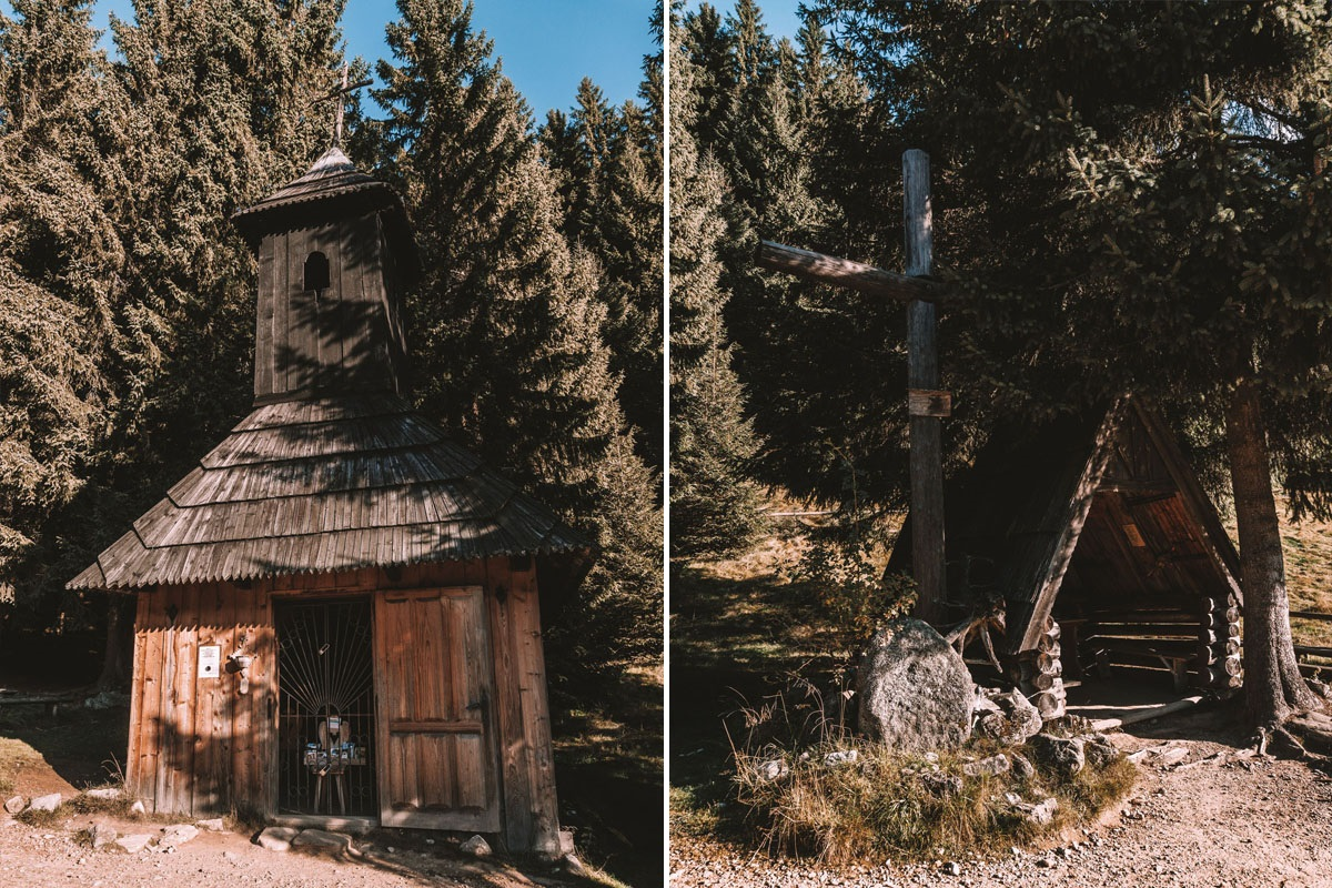 Kaplica Jana Chrzciciela przy Dolinie Chochołowskiej