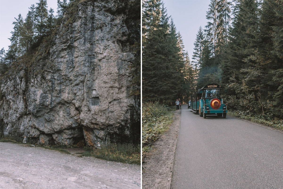 Dolina Chochołowska trasy