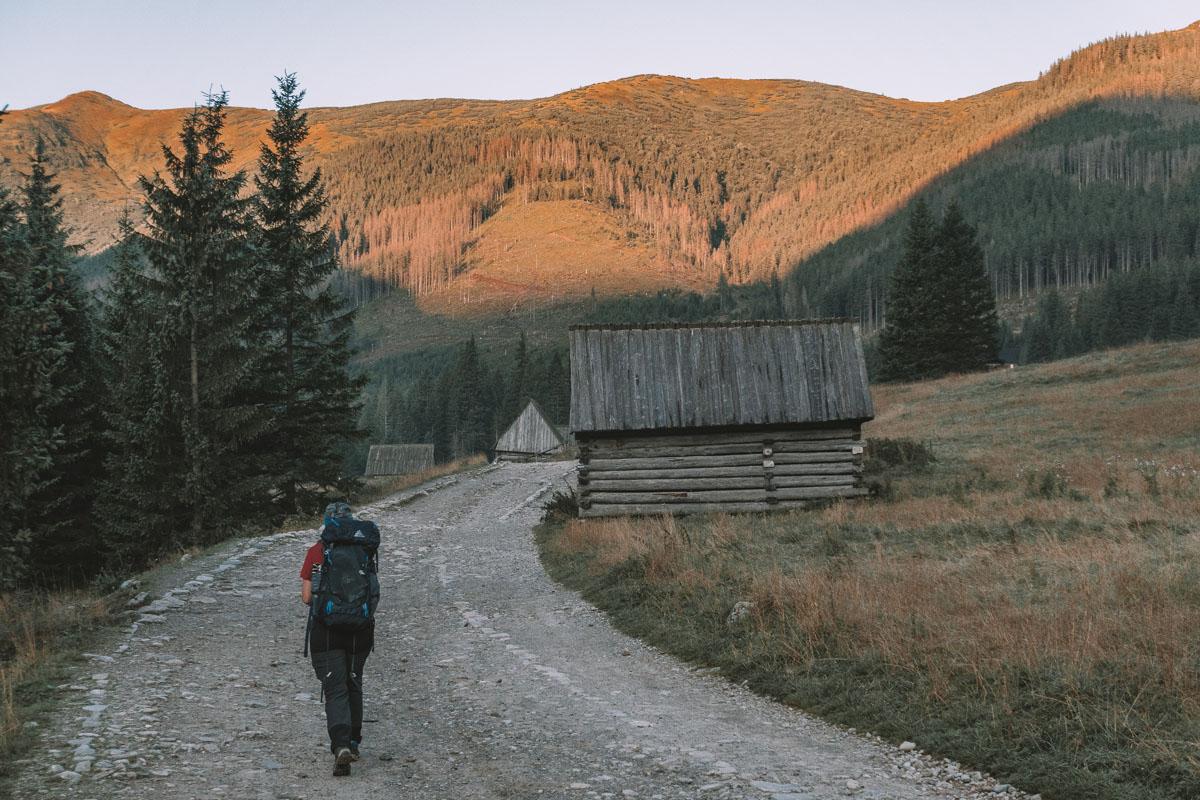 Dolina Chochołowska dojazd