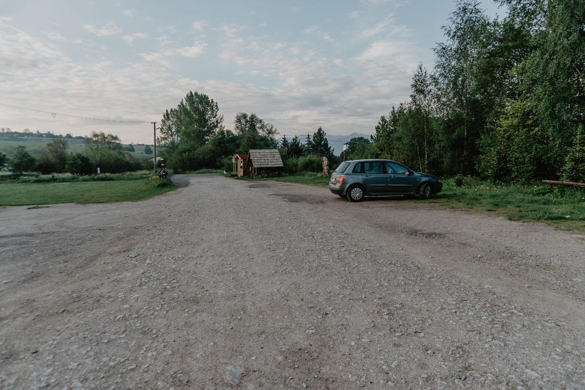 Dolina Prosiecka parking
