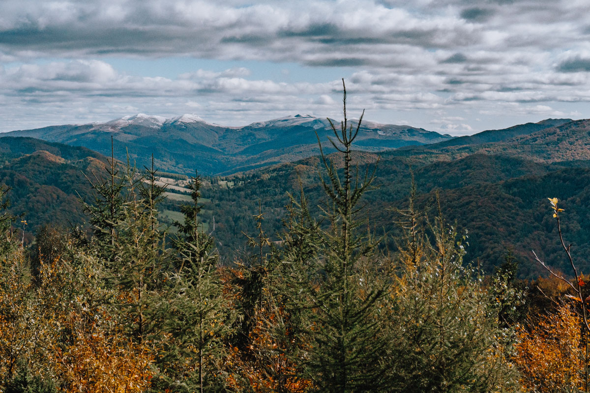 Dwernik Kamień - panorama widokowa