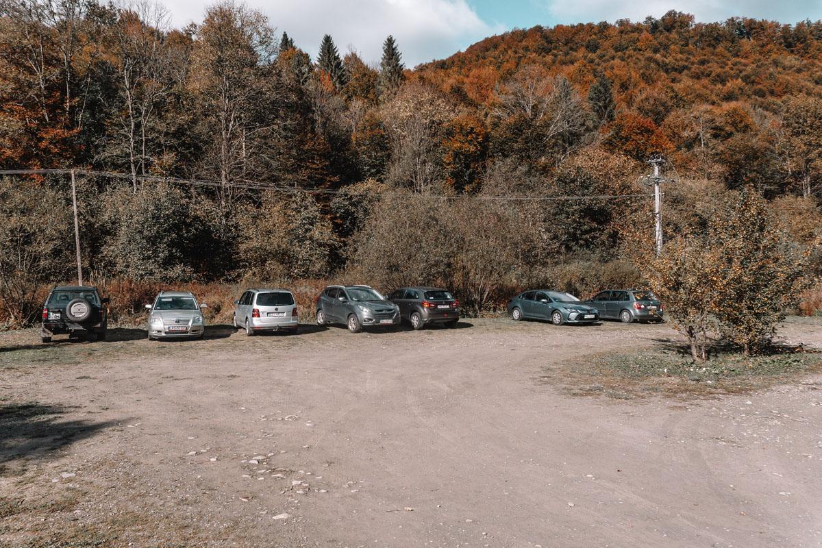 Nasiczne parking