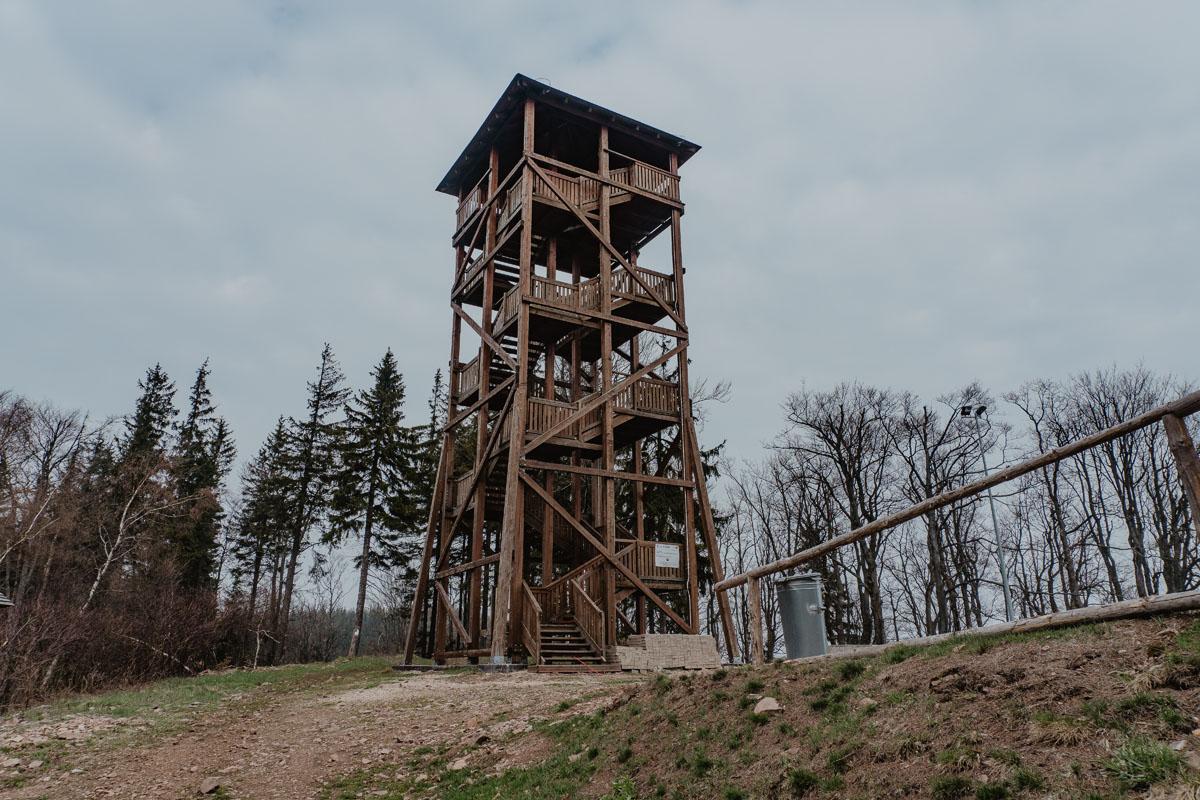 wieża widokowa na Dzikowcu  Diadem Polskich Gór