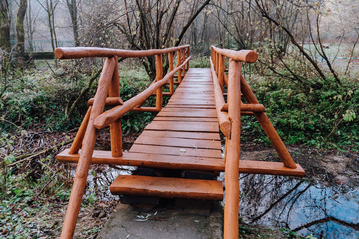 Most na potoku Kłopotnica