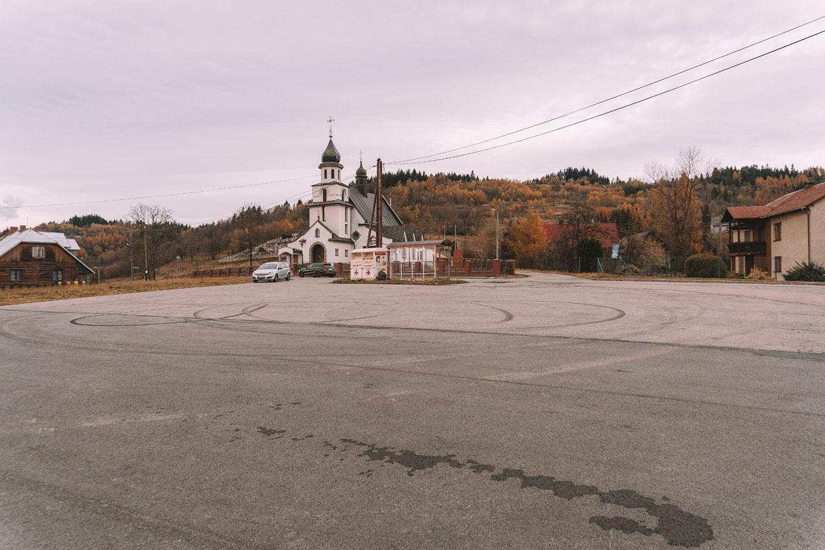 Hucisko - kościół