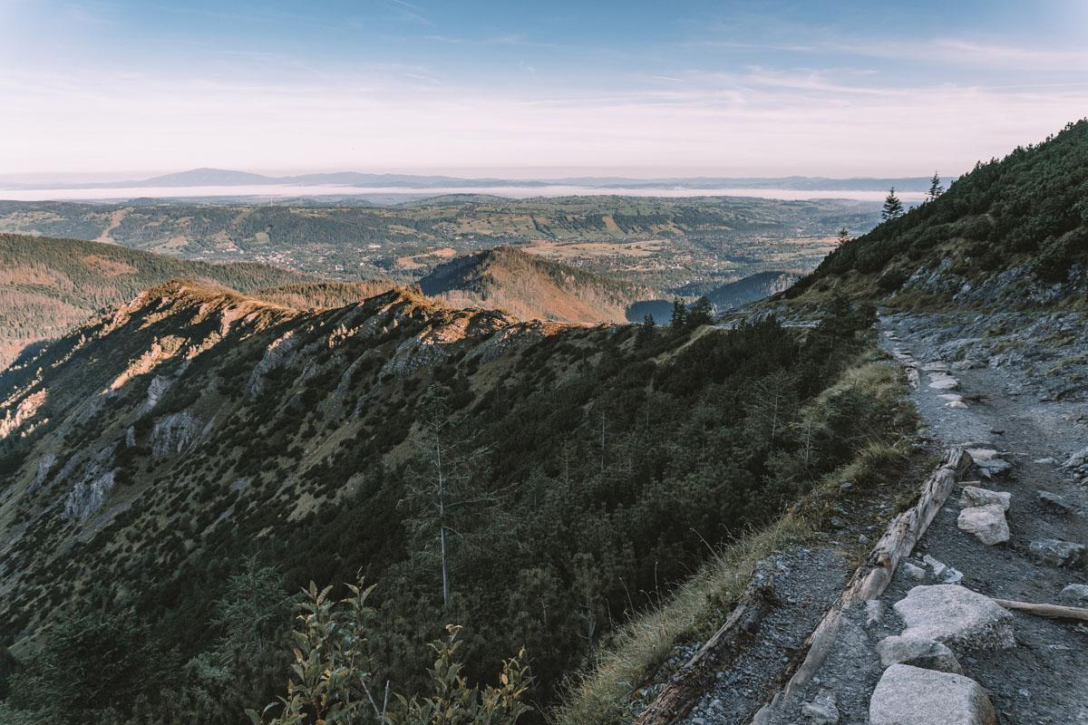 Szlaki na Halę Gąsienicową