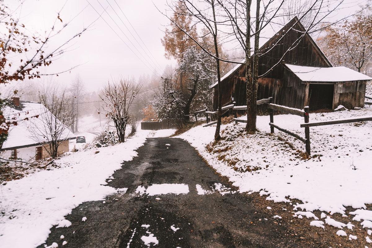 Droga na Jałowiec