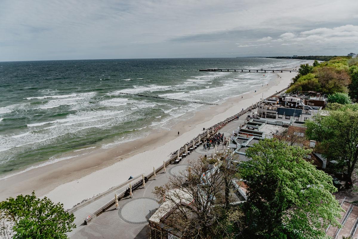 Morze Bałtyckie - widok z latarni Morskiej