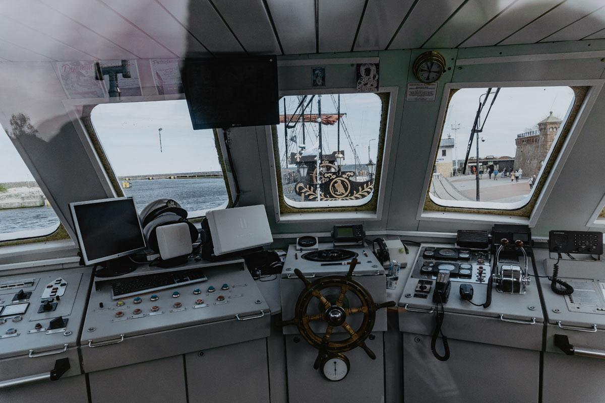 Rejs statkiem w Kołobrzegu