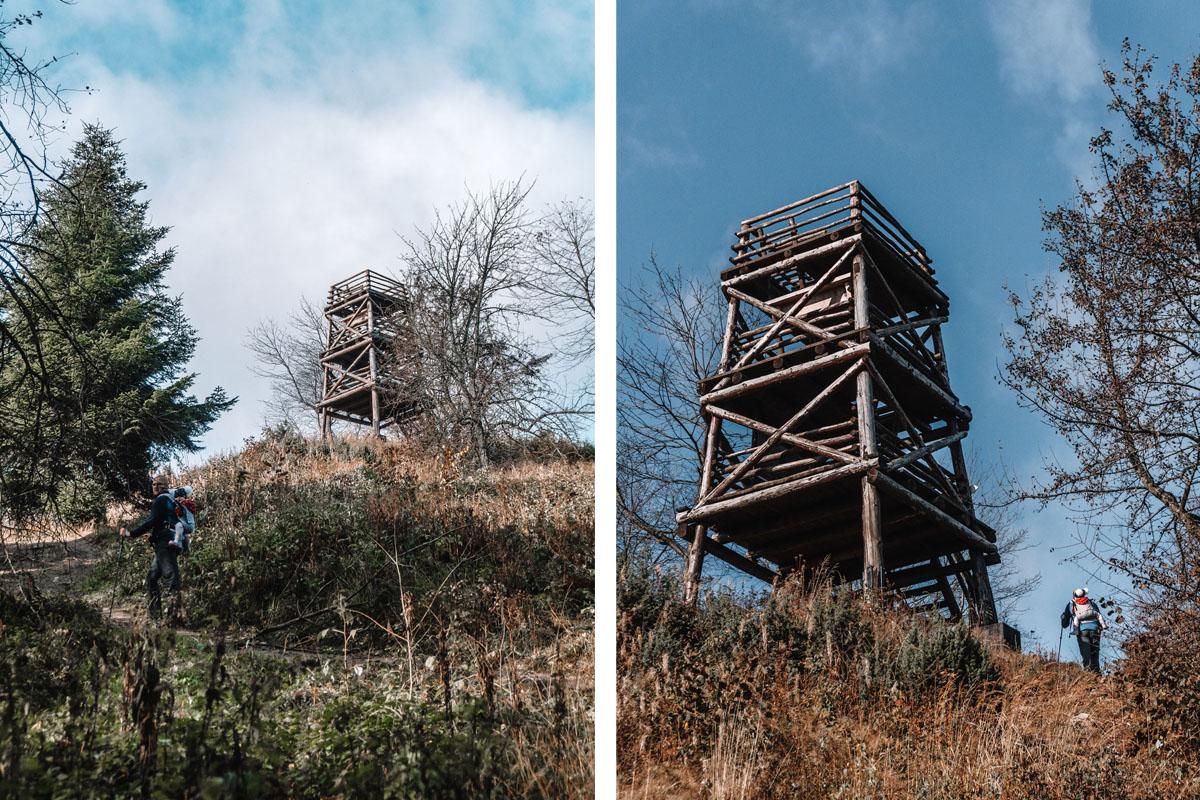 Korbania - wieża widokowa