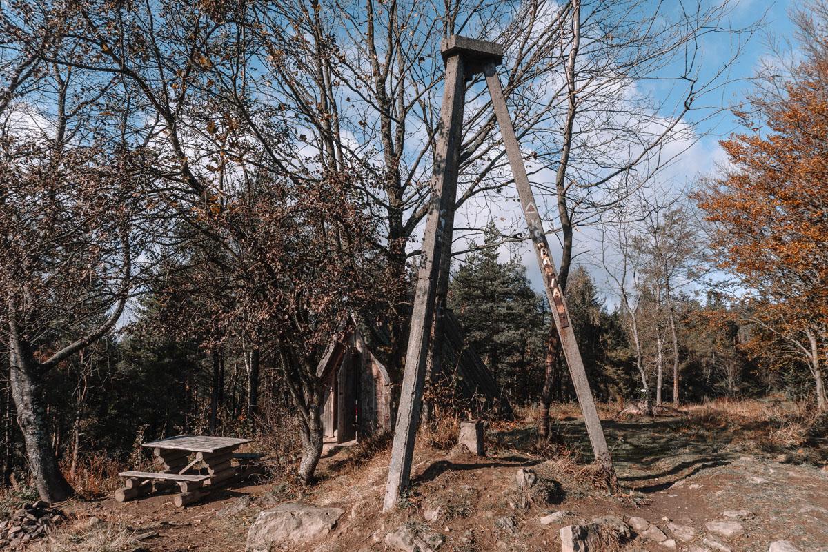 Korbania - szczyt w Bieszczadach