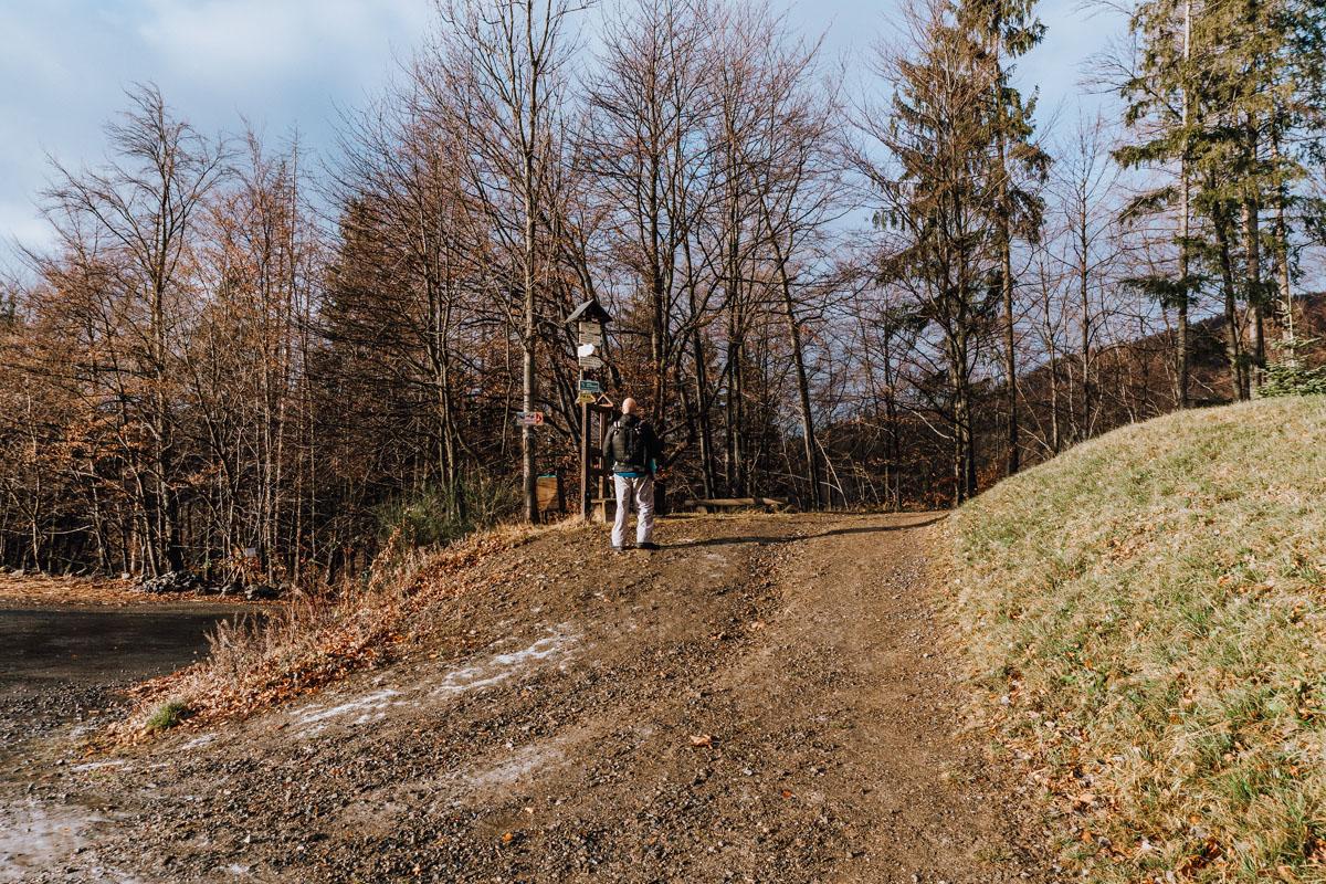 Szlak na Kozubová