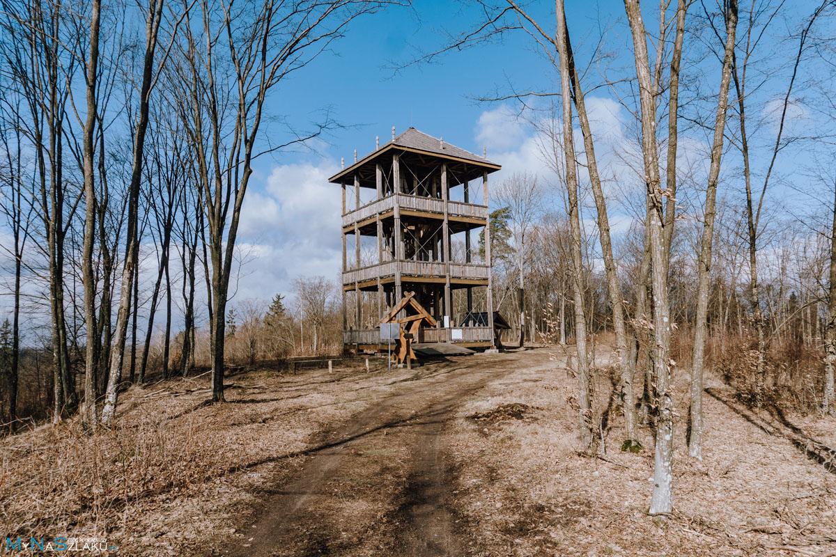 Wzgórza Świętojańskie - Kopna Góra wieża widokowa