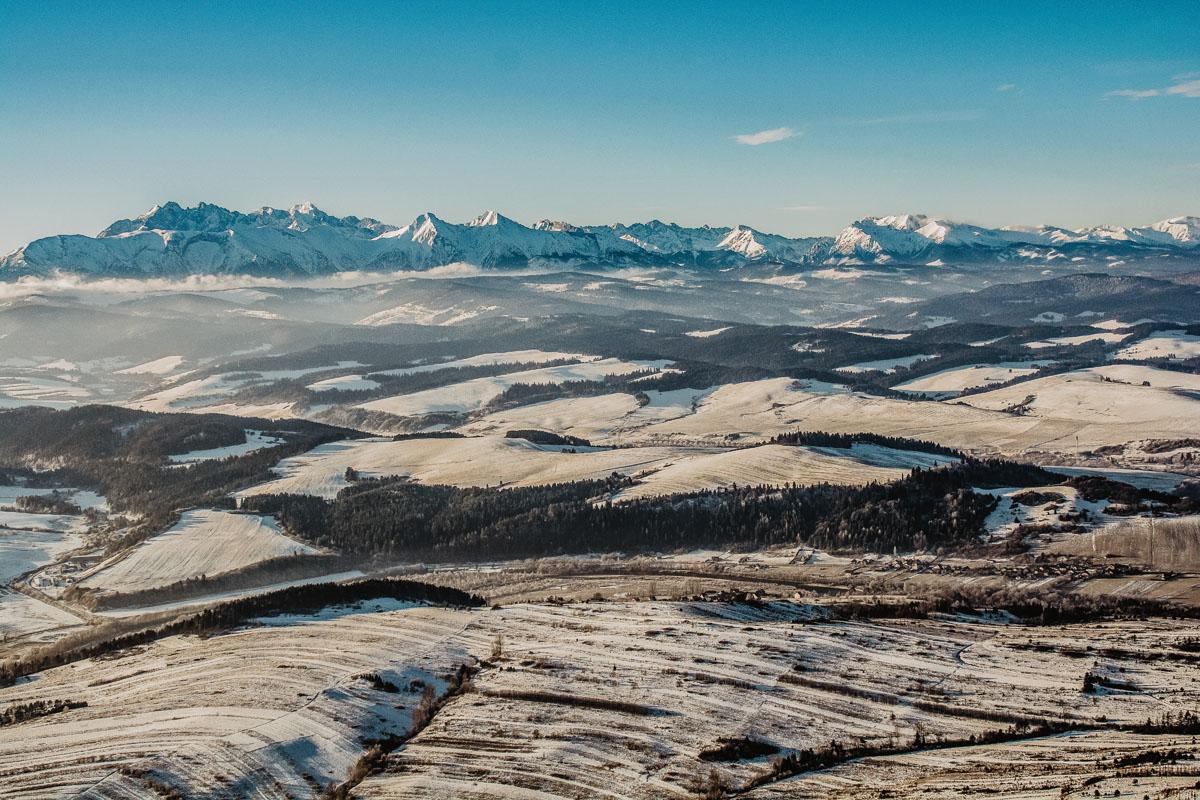 Krajobraz tatrzański z Trzech Koron