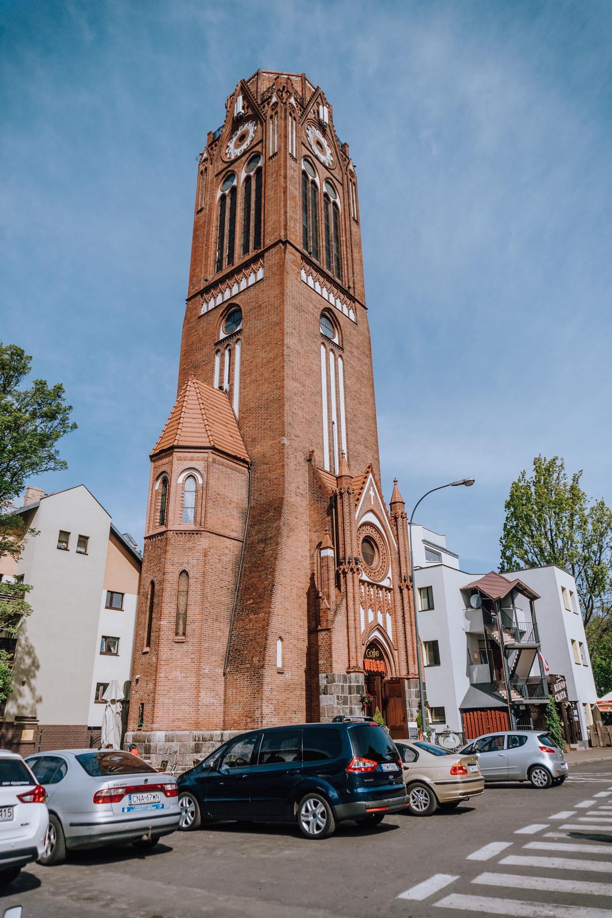 Wieża kościoła św. Marcina Lutra
