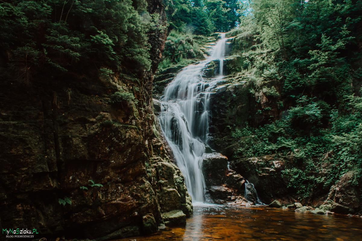 Szklarska poręba wodospad kamieńczyk