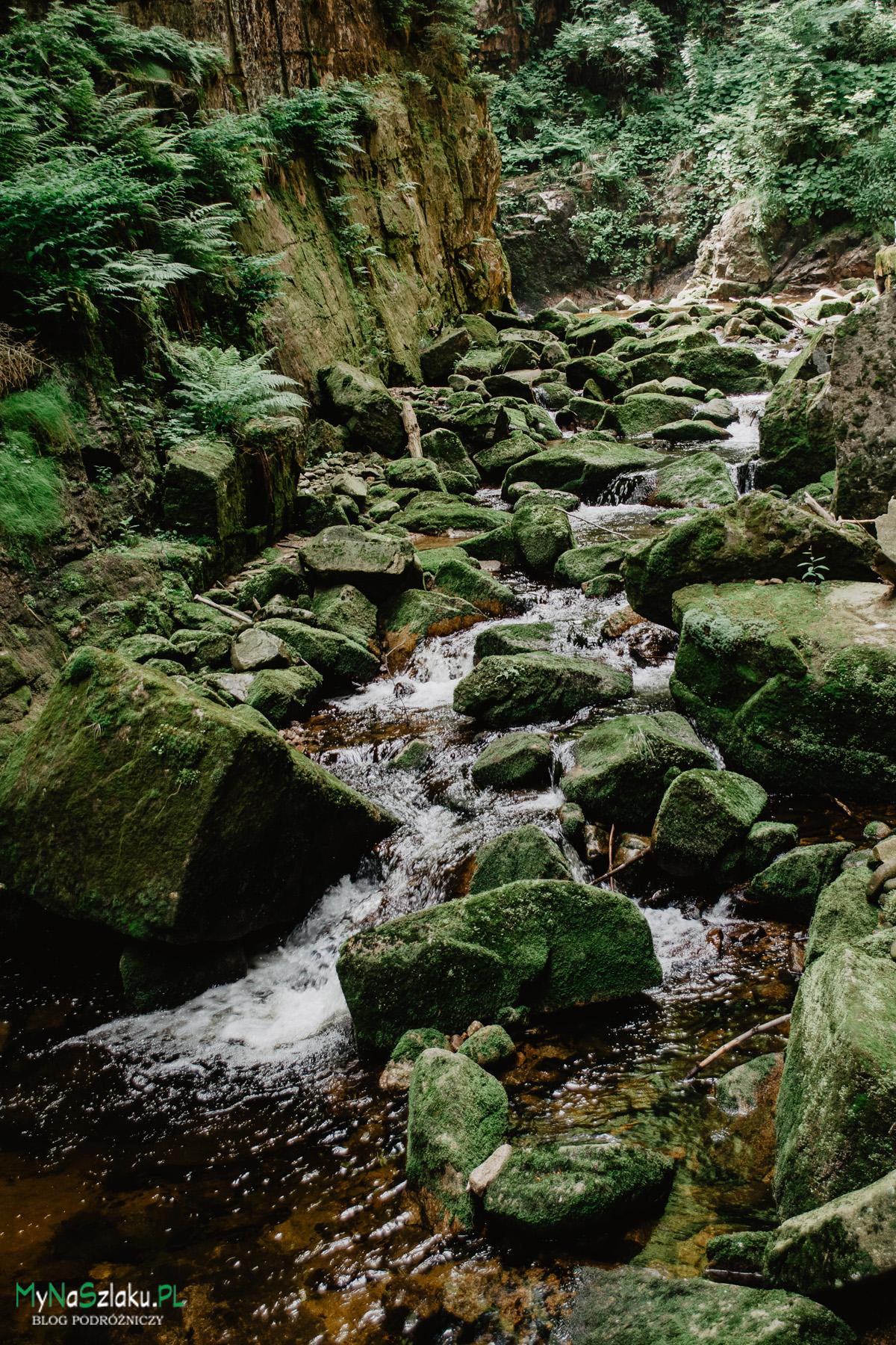 Wodospad Kamieńczyka w Szklarskiej Porębie