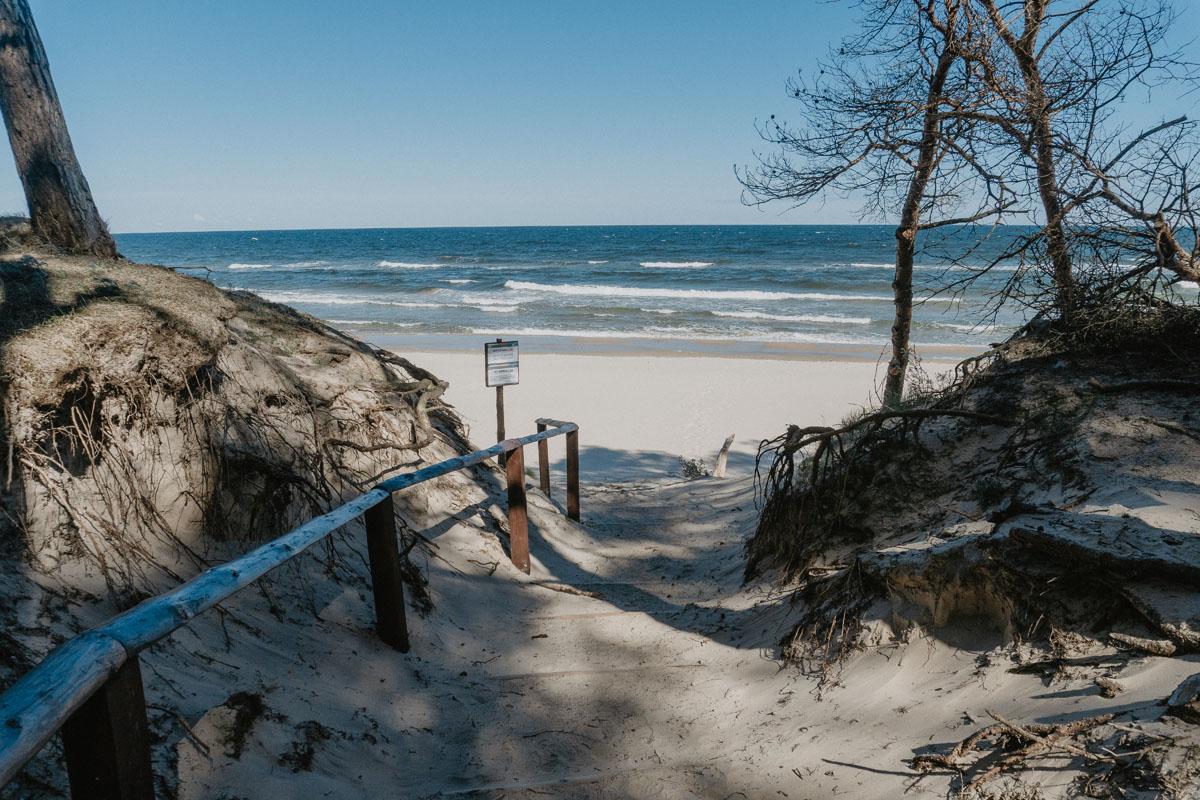 Plaża Wisełka