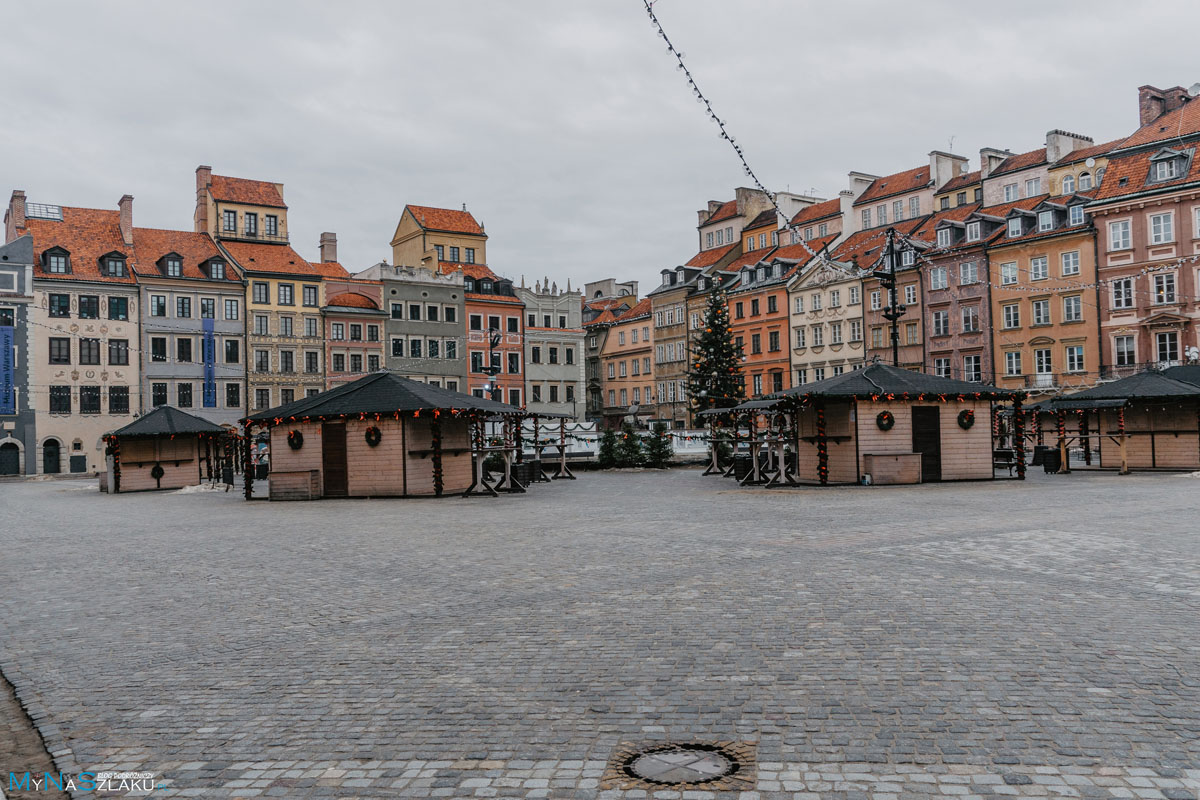 Plan zwiedzania Warszawy