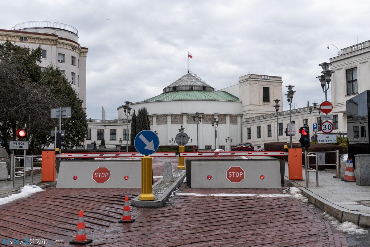 Sejm w Warszawie na weekend