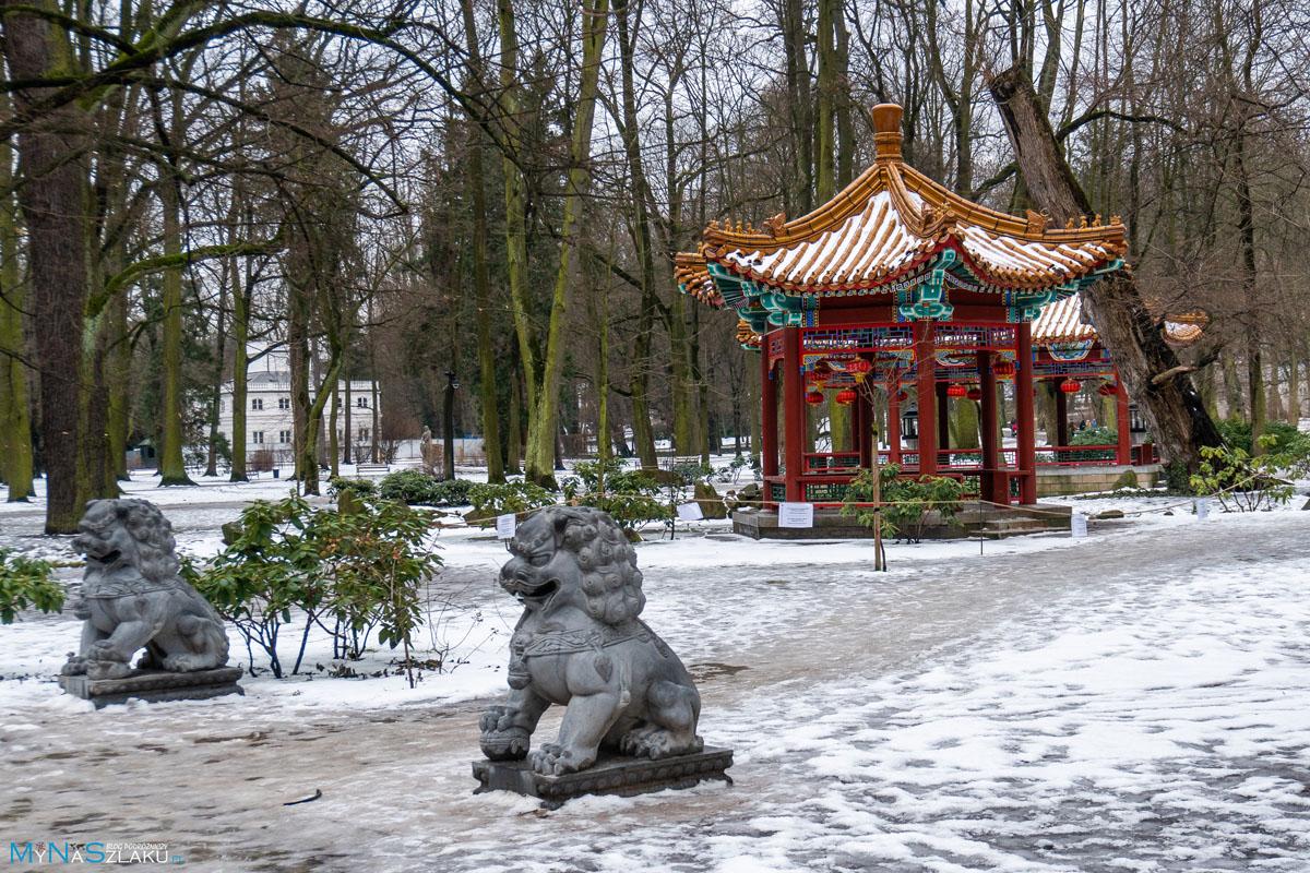 Łazienki i inne ciekawe miejsca w Warszawie