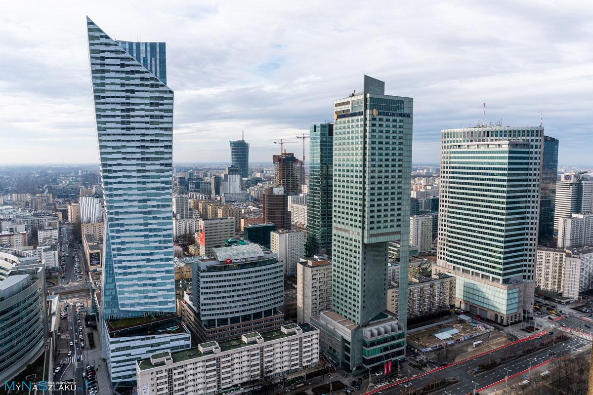 Wieżowce w Warszawie na weekend