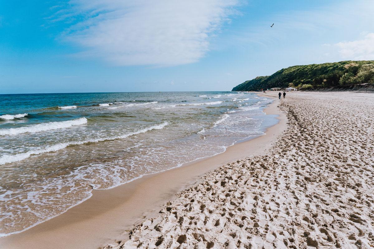 Morze Bałtyckie - Woliński Park Narodowy