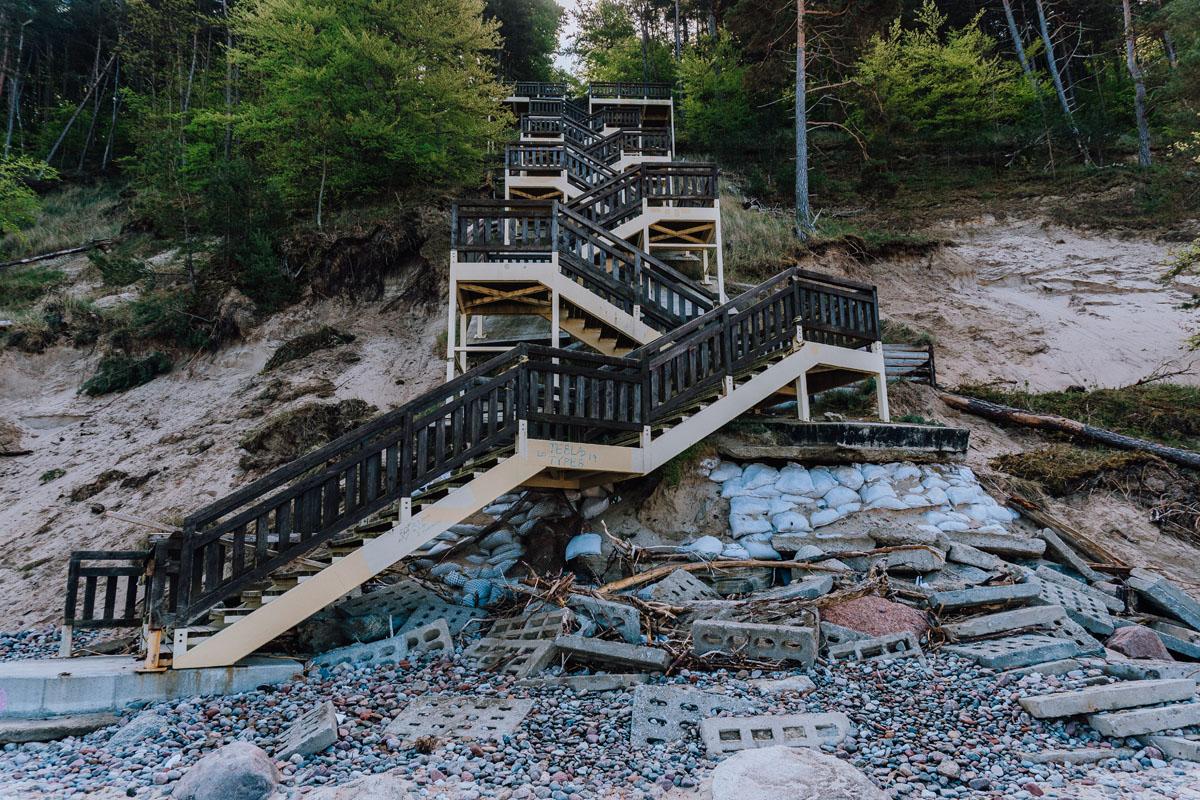 Kawcza Góra schody