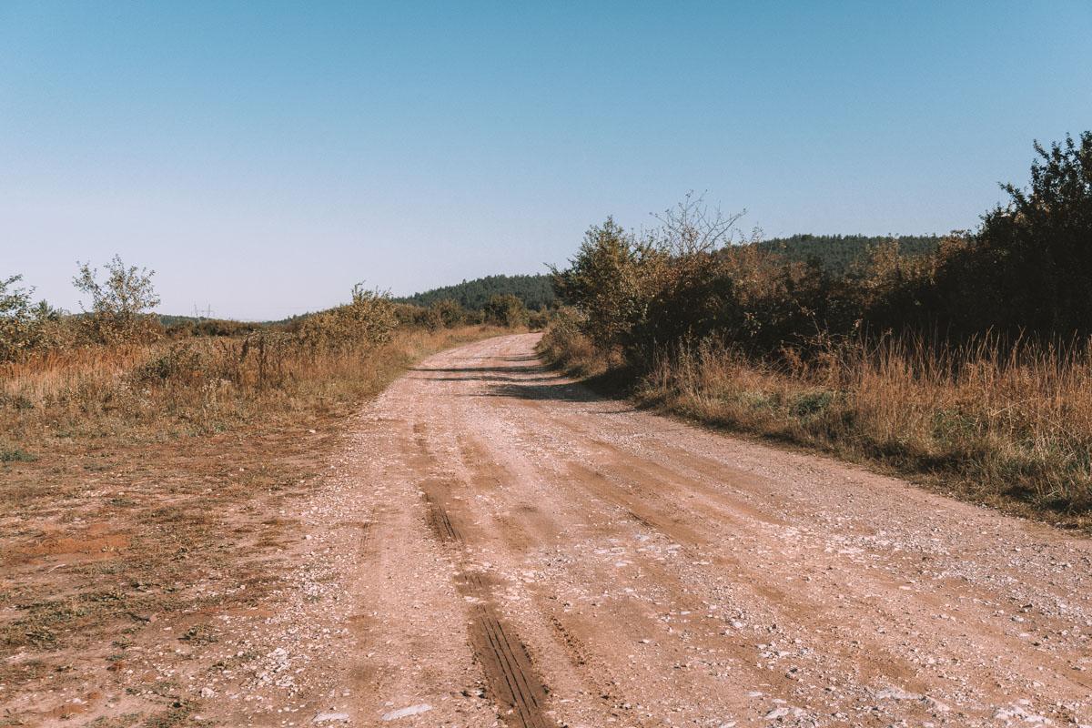 Szlak na Zelejową z Chęcin