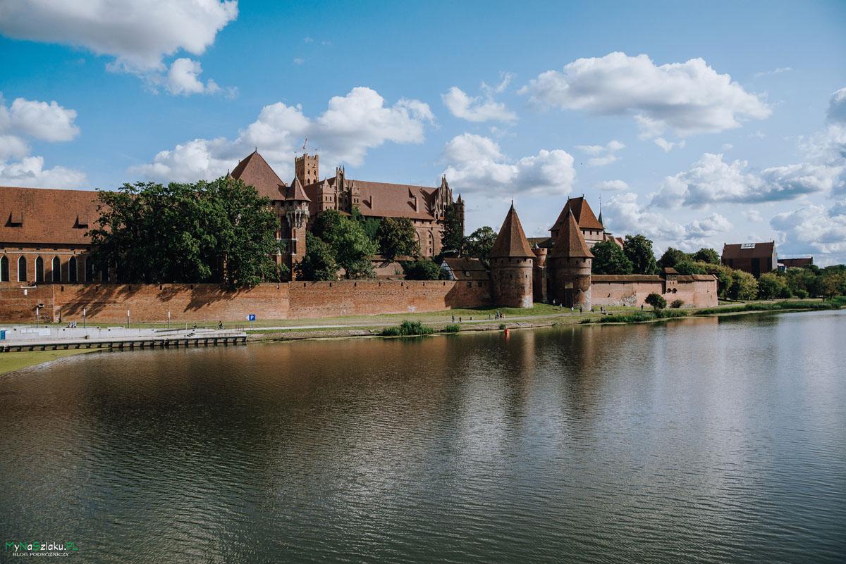 Zamek w Malborku - największy zamek w Polsce