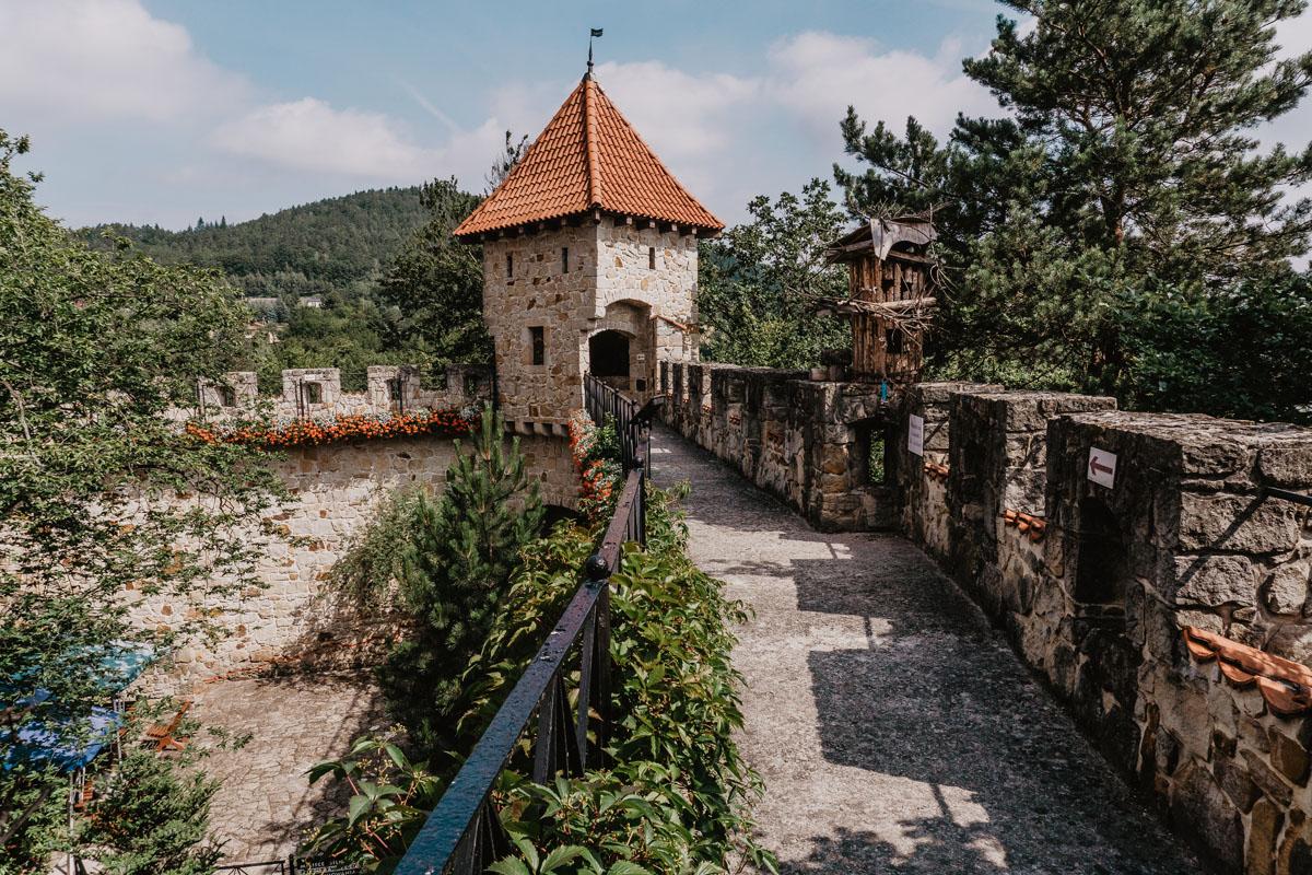 Atrakcje Czchowa - Zamek Tropsztyn