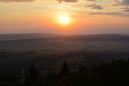 Pogórze Ciężkowickie  - Liwocz (562 m)