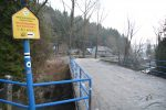 Szlak czarny z Wierchomli Wielkiej do Bacówki nad Wierchomlą