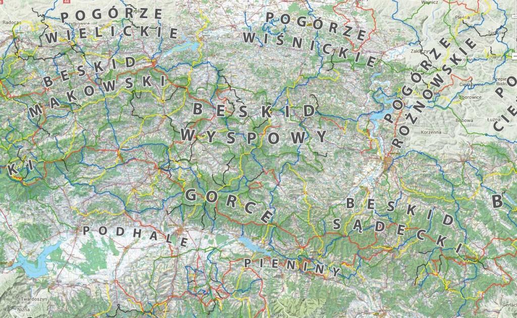 Aplikacja mobilna Mapa Turystyczna