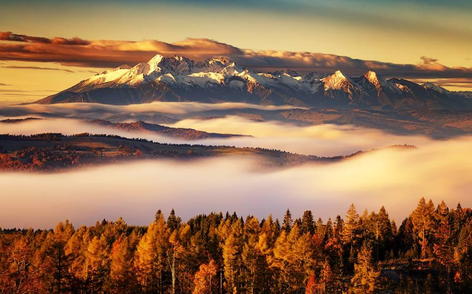10 najpiękniejszych miejsc w Beskidzie Sądeckim, z których zobaczymy Tatry