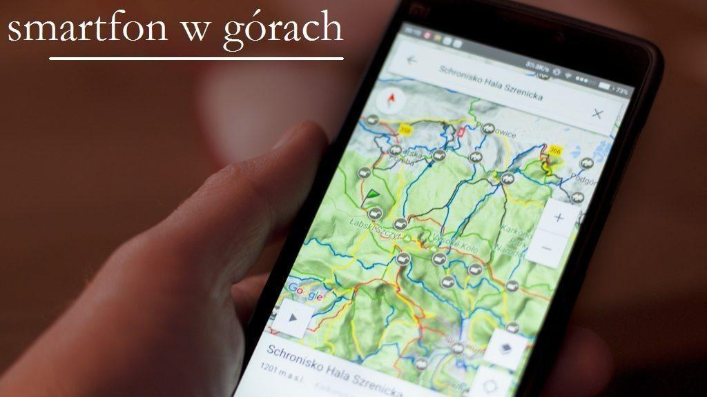 Aplikacje na smartfona, które używamy w górach